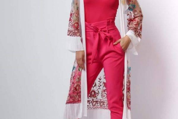 Sandy Fashion magenta ruha