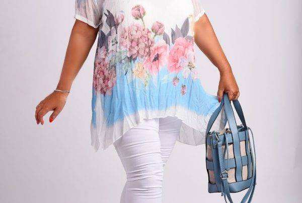 Virágos ruha xoxo fashion